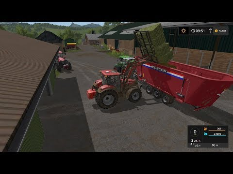 Farming simulator 17 Timelapse $1Billion farming only challenge ep#48