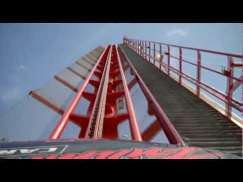Intimidator - Front Seat POV of Intimidator at Carowinds! Intimidator is Carowinds newest addition for the 2010 season! Enjoy!