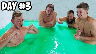 Last To Leave Slime Pit Wins $20,000 - Challenge