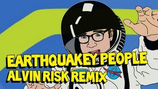Earthquakey People (Alvin Risk Remix) - Steve Aoki ft. Rivers Cuomo AUDIO