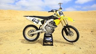 8. First Ride 2016 Suzuki RMZ 450 || Motocross Action Magazine