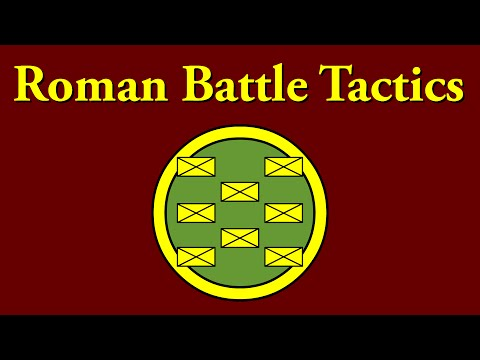 Roman Battle Tactics