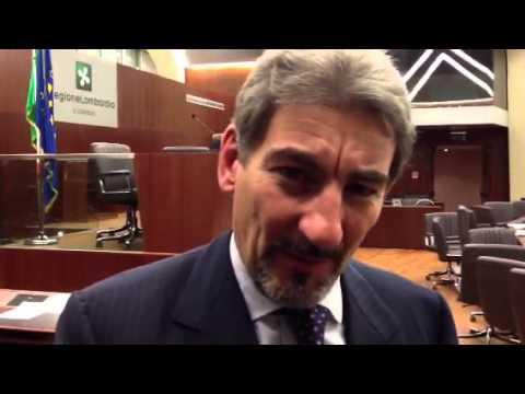 Raffaele Cattaneo al termine della prima seduta del Consigl