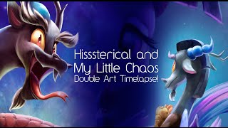 Hisssterical and My Little Chaos (MLP Speedpaint)