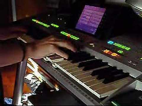 Victoria's Secret played on keyboard