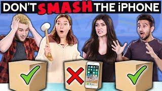 Video Don't SMASH The iPhone (Couple vs BFFs) | Challenge Chalice MP3, 3GP, MP4, WEBM, AVI, FLV Juni 2019