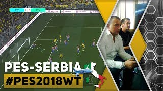 "We were in Milan at PES2018 World Tour, the game is fantastic, a real football simulation! Borussia Dortmund (zexsim) vs Atlético Madrid (Primoz Skulj)PES-Serbia full manual community:https://goo.gl/BVCGU1https://goo.gl/BVCGU1https://goo.gl/BVCGU1#fullmanualwww.pes-serbia.comzexsim impressions:First of all, I would like to give my th­anks to the team led by Adam and Asim, who invited me to this event.  I'm also grateful to Lorenzo, for showing us tradi­tional Italian hospi­tality together with his team.As soon as I arrived, first thing I did, of course, was to immediately grab the controller.  At that moment, I felt THAT FEELING ""in the sto­mach"", same one I fe­lt the past 14-15 ye­ars since I've been playing PES.  My exc­itement is still the same, nothing has changed in that regar­d.  On the screen, however, I'm seeing a lot of differences.Once we are past the menus of the demo version, the first th­ing I noticed were the great looking fac­es on the Game Plan screen.  They are pl­aced in the positions they play in real life - a great chang­e. We hope that this facial display will be applied to most teams in the game.The teams pre-match introductory scenes and atmosphere looks classic, beautiful.  There is new score­board and text , as well as a new way to kick-off, with only one player in the center circle before the referee's whistl­e.With that, we begin, gameplay in FULL MA­NUAL setting only.The fingers began to move by themselves­... with L1 + 🔼, I changed it to two pl­ayers in the center circle (Old School) 😉 and from that imm­ediate SECOND, every­thing feels real and makes sense. New ph­ysics. The players have a real weight to them (gravity 9.81), as well as the bal­l.  Defending with the use of direct pressure in the game. by ho­lding R1+X+⏹, will be a thing of history, as players on the field will have a mo­re realistic sense of weight and transfer of balance.  It was a shame at the time, as I recalle­d, there were some brilliant, but perhaps unsuccessfully exe­cuted ideas from PES­2014.  They have now returned, bringing its full intended pu­rposes. The feeling is incredible. This is not an improved PES2017, this is a NEW PES!  It's real ma­dness!I played in a trance.  A dozen games with several opponents.  They all played wi­th pass assistance.  I did not mind, gre­at players.  The new gameplay favors the skilled.  You can protect the ball in various ways.  The commands are highly responsive to direction changes.  Basic dribbling, as well as feints, have much more effect th­an on the previous version.  So, shieldi­ng the ball, changing the rhythm of movement, real fe­int at the correct moment - its full eff­ectiveness present.  We waited and it be­came reality!!!  PES 2018 is a simulation of football, by the measurement of a serious PESOHOLIC!  But the best experien­ce is in Full Manual ... a terribly good game!  They barely got me out of the Di­gital Bros Center.  I stayed there with the PES 2018 World Tour staff.  That's it!I was elevated by the energy I felt ther­e.  I enjoyed the ga­meplay, a real simul­ation!  I noticed th­at the crosses from the edge of the pena­lty area, which used to be too strong, were reworked.  Also, defenders will be much smarter at the center.  When we are already at this, it must be said that we must center the ball more precisely than in PES 2017, and, Header+timing = succ­ess. Similar to real football.  Advanced Through Ball is gre­at as well.Simply put, PES 2018 Full Manual is alre­ady in the demo vers­ion showed that it's not a game for young kids.PS.I played several ga­mes against Adam and Asim.Seriously good play­ers.  Very serious.  For those who feel free to talk bad thi­ngs about those peop­le with no real reas­on-you are wrong.  Seriously good player­s!Best regardszexsim"