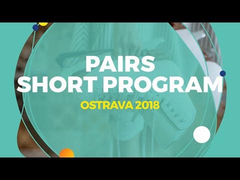Akhanteva Kseniia / Kolesov Valerii (RUS)   Pairs Short Program   Ostrava 2018