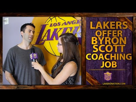 job - The Lakers have hired Byron Scott the head coaching job, according to reports. Mark Medina of the L.A. Daily News breaks it down. Join the Largest Lakers Fan Site in the World http://LakersNation....