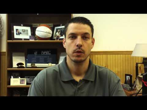 Matt Logie men's basketball Jan. 19, 2015