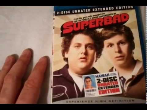 Superbad (2007) 2-Disc Unrated Extended Edition - Blu Ray Review and Unboxing