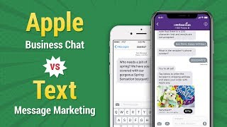 Apple Business Chat vs Text Message Marketing