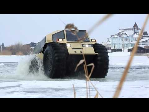Russians design amphibious vehicle
