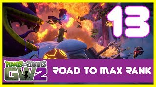This is the return of my Road to max rank series it feels good to be back playing Plants Vs Zombies Garden warfare 2 again time to start ranking up again this is episode 13. Subscribe here for more Gaming Videos: http://goo.gl/JnMm2v.Don't forgot to click that notifications bell so you know when my next video is live  I Stream so come join The Barking Mad Society: https://mixer.com/krlbarkerhttps://twitch.tv/krlbarker Fancy spying on what I'm doing lately join my Twitter: https://twitter.com/KrlBarkerWant to stalk me on Xbox One well here's my GT: KrlBarkerJoin my Club on Xbox One and have a Chat: Search KrlBarkerIntro Creator: Dopemotionshttps://www.youtube.com/channel/UCgvrz9ioKv89HMyg42z4pyQEdited By: KrlBarkerFor more templates, visit www.velosofy.com!The Backyard BattlegroundWelcome to the biggest PvZ world yet. In your Backyard Battleground you can edit your character's abilities and customizations, choose quests, jump into co-op or multiplayer action modes, or invite up to 3 friends in to your backyard to start a party and take on AI – defeat a wave, and a more powerful wave will show up. You can also switch teams to challenge your friends!24 player multiplayer & 4 player co-opChoose from six online multiplayer game modes and two 4 player co-op modes. Play competitively or cooperatively as either the plants or zombies in the biggest, baddest battle for Suburbia.14 Classes With Over 100 Playable Characters6 new characters bring even more strategic depth to this all-out botanical battle with 14 total classes and over 100 playable plants and zombies from the past, present, and future.More ways to play - Solo Play and Split-ScreenGo solo playing against AI opponents or locally in split-screen* co-op across any mode in the game (no Xbox Live Gold or PS Plus memberships required).*Split-Screen available for PlayStation 4 and Xbox One only.