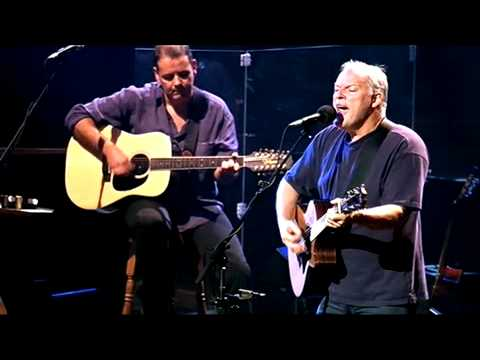 Live Music - David Gilmour Wish you were here live unplugged ...