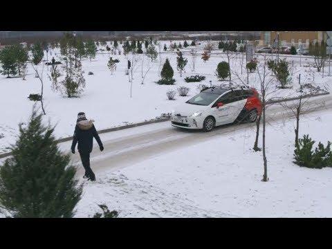Яндекс показал испытания беспилотного автомобиля вснегу
