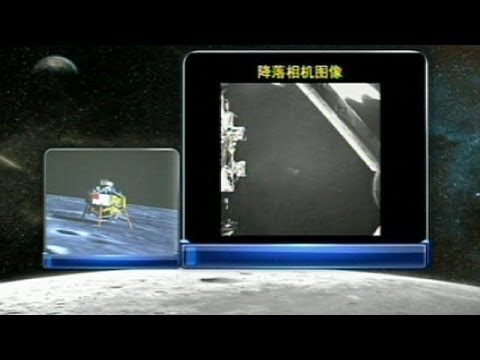 الصينيون يصلون إلى القمر ويرسلون الصور