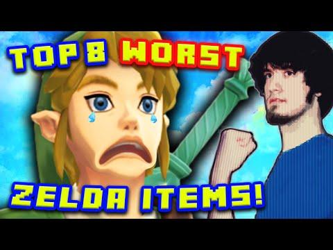 Top 8 WORST Zelda Items! - PBG (Ft. MatPat)
