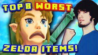 Video Top 8 WORST Zelda Items! - PBG (Ft. MatPat) MP3, 3GP, MP4, WEBM, AVI, FLV Juni 2019