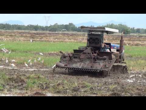 รถตีดิน - สาธิตการทำงานรถพรวนดิน เกษตรพัฒนา ณ จังหวัด อยุธยา - มาพร้อมตัวเดิน 10 HT ใหม่ -...