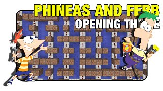 "Phineas and Ferb ""Theme"" - Minecraft Xbox 