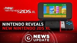 Nintendo Launching New 2DS XL Model - GS News Update by GameSpot