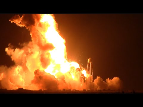 rocket - Jukin Media Verified (Original) * For licensing / permission to use: Contact - licensing(at)jukinmediadotcom Antares rocket explodes 6 seconds after liftoff. As of right now the cause of the...