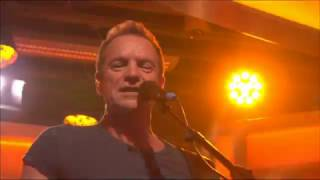 "Sting banging out ""I Can't Stop Thinking About You"" from his album ""57th and 9th"" on the BBC One Show, November 16 2016. www.sting.com"