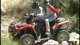 9. ATV Television Test - 2004 Can Am Outlander Max XT