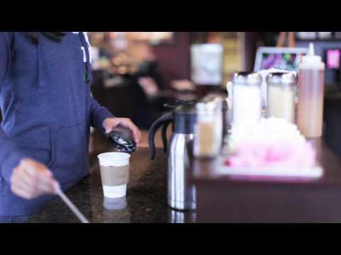 iChair iPad Case goes to the coffee shop