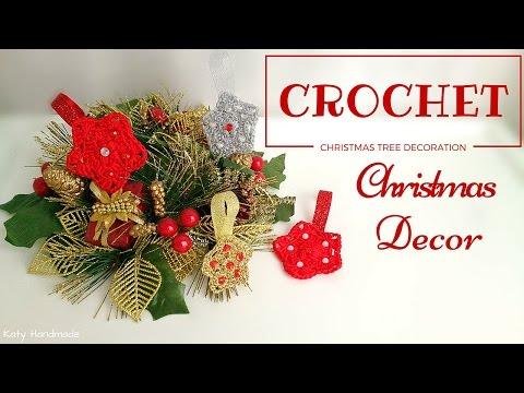 crochet - decorazioni natalizie