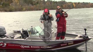 Simcoe (ON) Canada  City pictures : Fall Large & smallmouth bass fishing, Lake Simcoe, ON