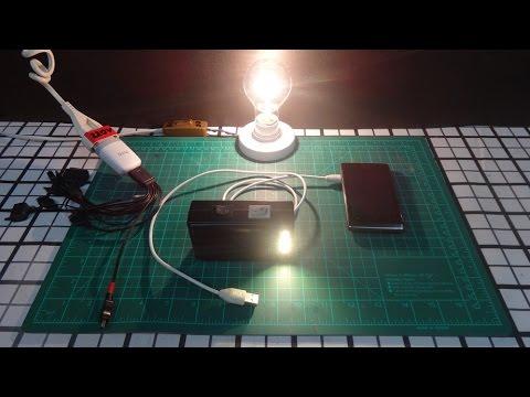 DIY Homemade Solar Power Bank