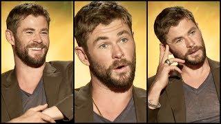 Video Chris Hemsworth On The Pain Behind THOR'S Ragnarok BODY + That Special Marvel Moment MP3, 3GP, MP4, WEBM, AVI, FLV Juni 2018