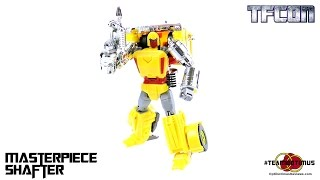 Video Review of the 2014 TFCon Exclusive: Masterpiece Shafter