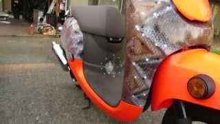 7. 2013 Honda Metropolitan - snakeskin paintjob
