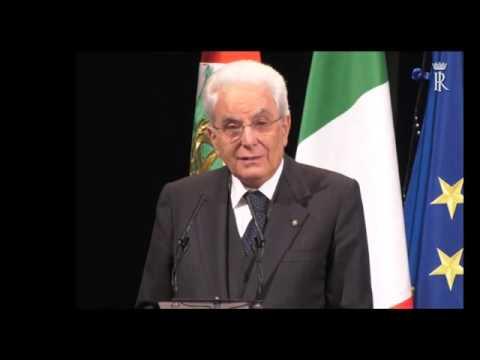 25 APRILE : L' INTERVENTO DEL PRESIDENTE SERGIO MATTARELLA