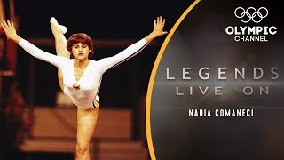 Video The Story of Nadia Comaneci, Gymnastics' Perfect 10 Icon | Legends Live On MP3, 3GP, MP4, WEBM, AVI, FLV September 2019