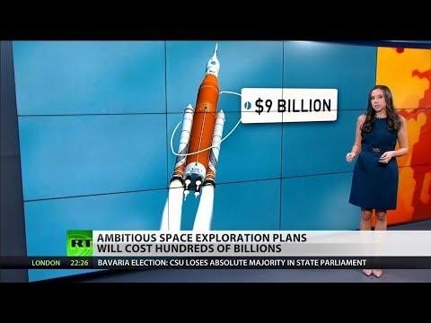 Ambitious NASA Rocket Project to Cost $9 Billion_Űrhajó videók