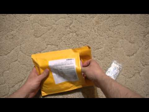 Unboxing parcel Aliexpress.com №1