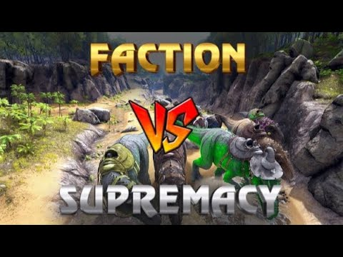 FACTION MEAT RUN SUPREMACY   XBOX ONE OFFICIAL PVP   ARK SURVIVAL EVOLVED