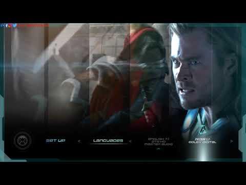Marvel's The Avengers (2012) Blu-ray™ Disc | Main Menu | Menu Walkthrough