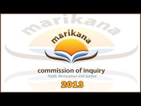 The Farlam Commission of Inquiry, 6 September 2013