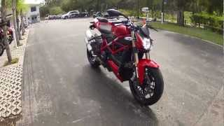 8. 2013 Ducati Streetfighter 848 Red at Euro Cycles of Tampa Bay