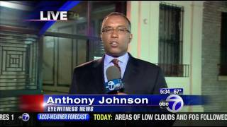 """Nicaragua, please!!! Reporter says """"Native Nigger..."""", then corrects to """"Nicaragua"""". Blooper by Anthony Johnson of WABC, New..."""