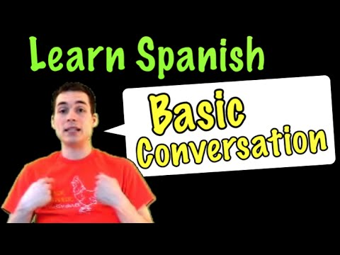 spanish - SUBSCRIBE for more Spanish videos: http://bit.ly/XGe7we Follow me on Facebook:https://www.facebook.com/pages/Se%C3%... Tweet me: https://twitter.com/senorjor...