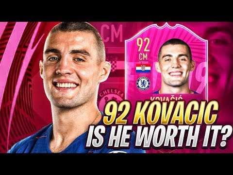 92 FUTTIES KOVACIC REVIEW! BETTER THAN FUTTIES FRED? FIFA 19 Ultimate Team