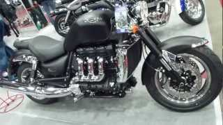 5. Triumph Rocket III Roadster 2.3 R3 16V 148 Hp 193 Km/h 119 mph * see also Playlist