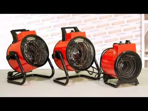 ЭлектроШОК. Тепловые пушки HEAT PLUS 2000 mini, 2000 и 3000