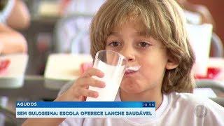 Escola de Agudos adota cardápio saudável e crianças aprovam